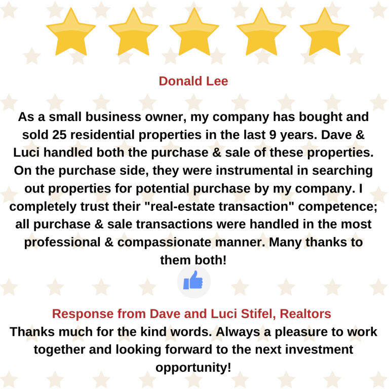 Donald Lee google review
